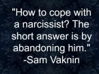 Sam Vaknin quote