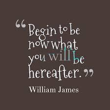 Begin to be Now